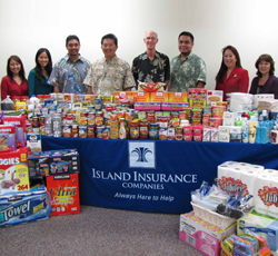 Island Insurance IHS Donation